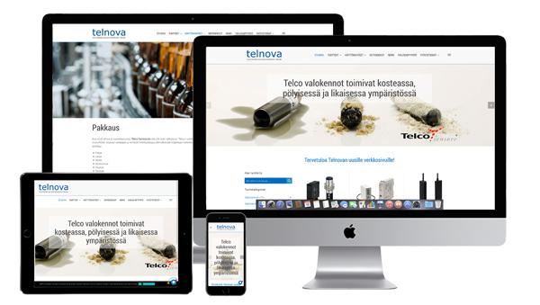 Telnova.fi--verkkosivu