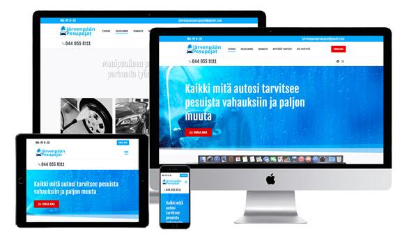 jjarvenpaanpesupojat.fi-sivusto