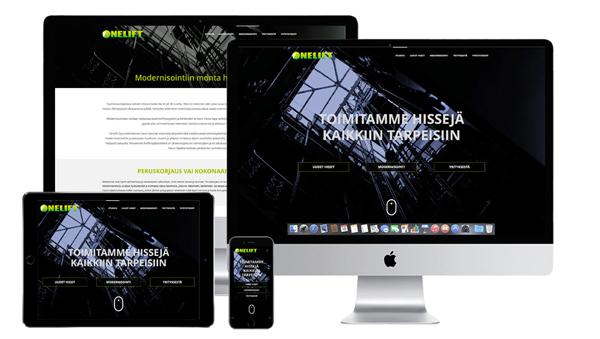 onelift.fi-verkkosivut
