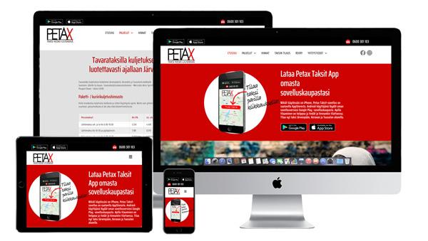 petax.fi-sivusto