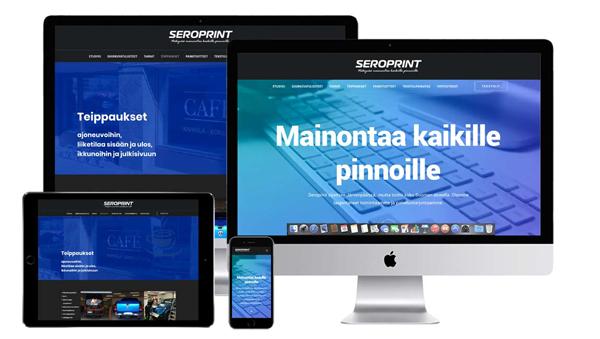 seroprint.fi-verkkosivusto