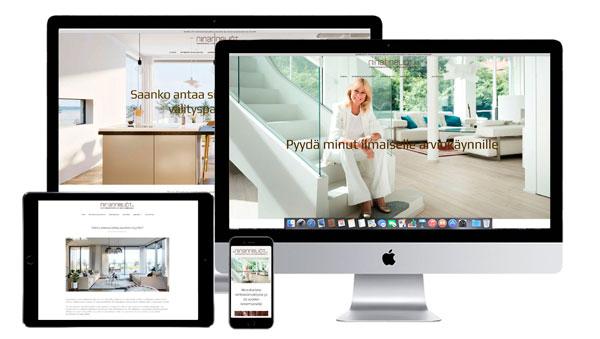 www.ninanneliot.fi verkkosivut