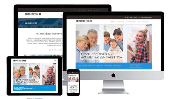 www.nordic-talot.fi verkkosivut