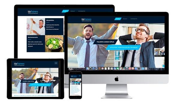 www.wptrainers.fi verkkosivut